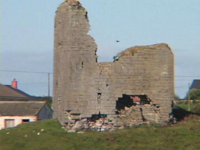 Ruins in Doolin
