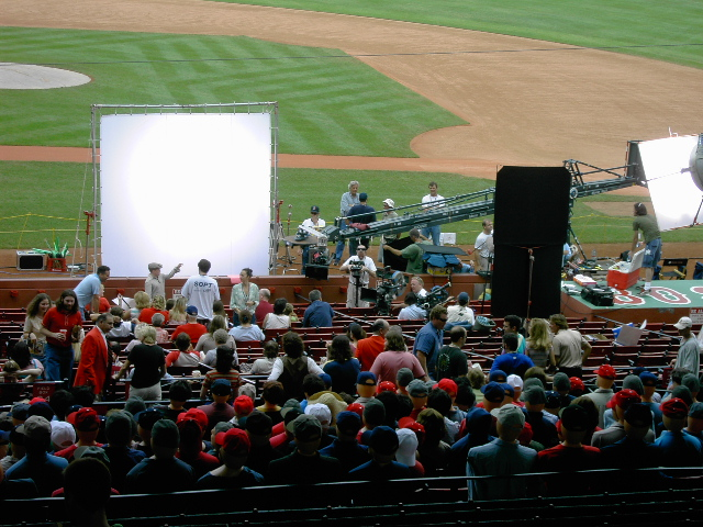 Fever Pitch filming at Fenway 09/2004